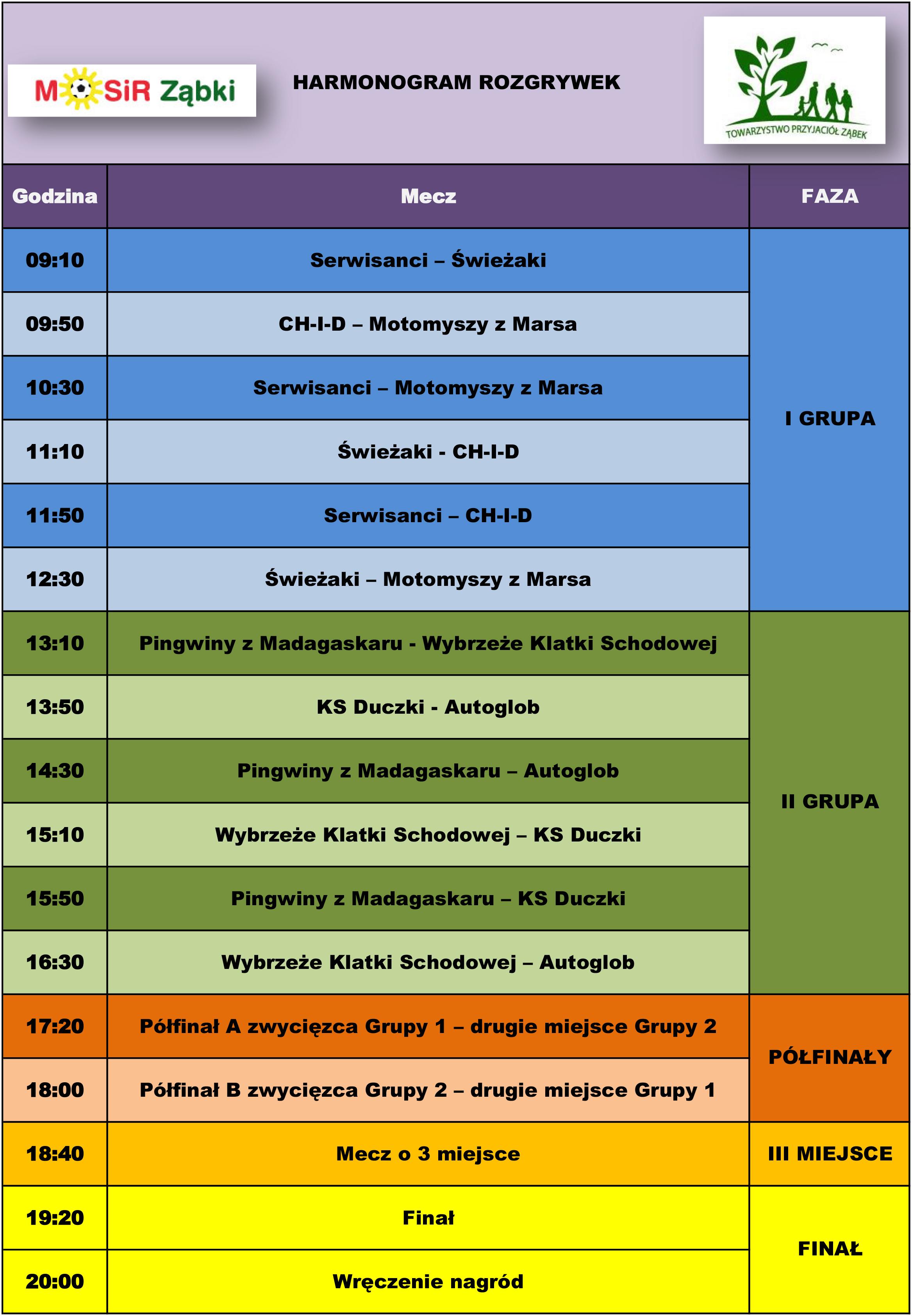 Harmonogram rozgrywek2013GS-1
