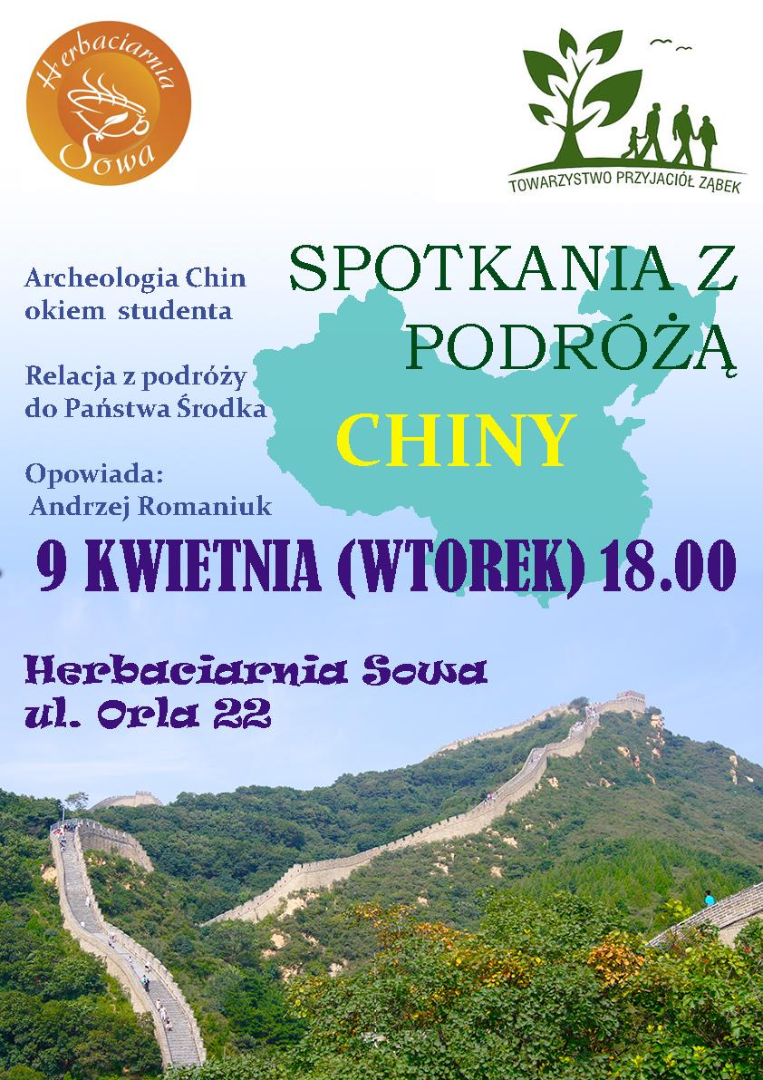 plakat chiny
