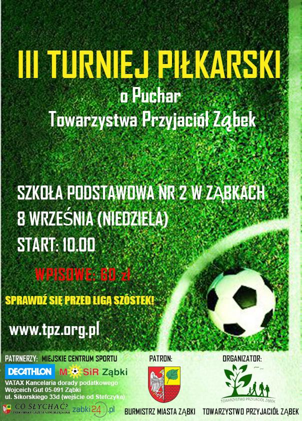 plakat III turniej vol2